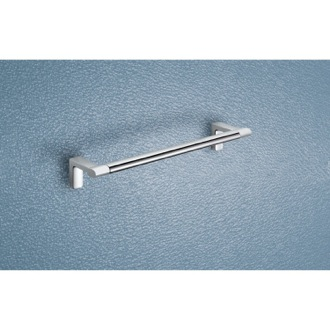 Towel Bar Two Tone Chrome 12 Inch Towel Bar 4321-30-21 Gedy 4321-30-21
