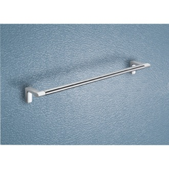 Towel Bar Two Tone Chrome 18 Inch Towel Bar 4321-45-21 Gedy 4321-45-21