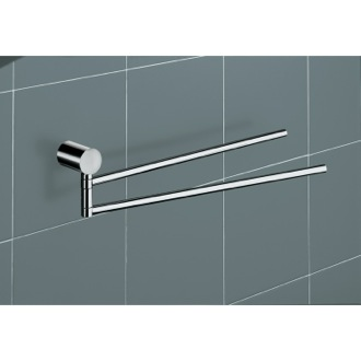 Towel Bar White Wall Mounted Jointed Towel Holder 4623-02 Gedy 4623-02