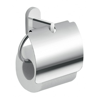 Toilet Paper Holder Chrome Toilet Paper Holder With Cover 5325-13 Gedy 5325-13
