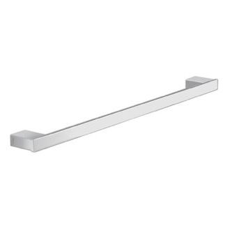 Square 24 Inch Towel Bar In Polished Chrome Gedy 5421-60-13