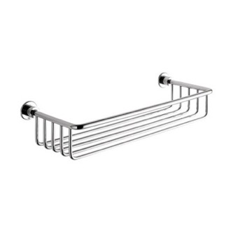 Chrome Wire Shower Basket Gedy 5618-13