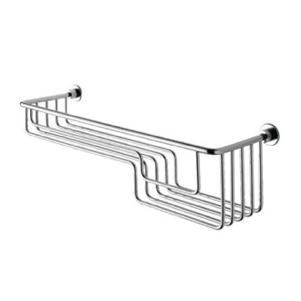 Chrome Wire Shower Basket Gedy 5620