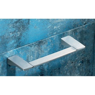 Square 12 Inch Polished Chrome Towel Bar Gedy 5721-30-13