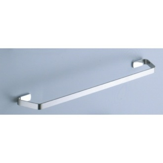 Towel Bar 18 Inch Satin Nickel Towel Bar 6121-45-40 Gedy 6121-45-40