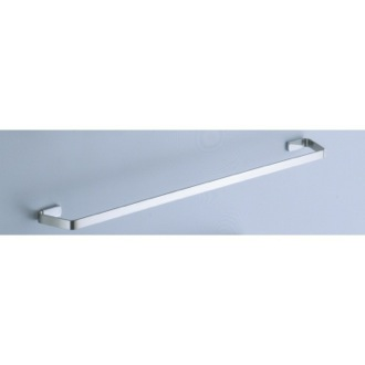 Towel Bar 24 Inch Satin Nickel Towel Bar 6121-60-40 Gedy 6121-60-40