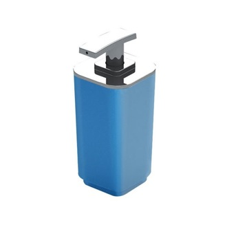 Soap Dispenser Contemporary Blue Resin Soap Dispenser 6382-11 Gedy 6382-11