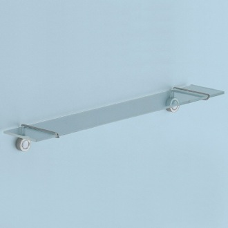 Bathroom Shelf 20 Inch Stainless Steel Wall Mounted Shelf 7419-13 Gedy 7419-13