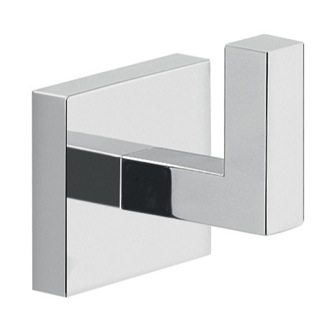Bathroom Hook Modern Square Wall Mounted Chrome Bathroom Hook Gedy A026-13