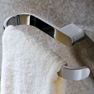 Towel Ring Elegant Polished Chrome Towel Ring Gedy A170-13