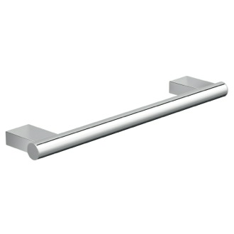 Towel Bar 12 Inch Contemporary Polished Chrome Round Towel Bar Gedy A221-30-13