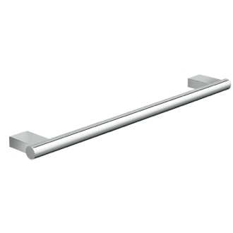 18 Inch Luxury Wall Mounted Round Chrome Towel Bar Gedy A221-45-13