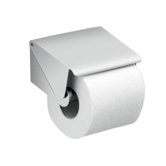 Toilet Paper Holder Chrome Square Toilet Paper Roll Holder with Cover A225-01-13 Gedy A225-01-13