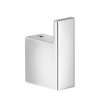 Bathroom Hook Square Polished Chrome Bathroom Towel Hook Gedy A326-13