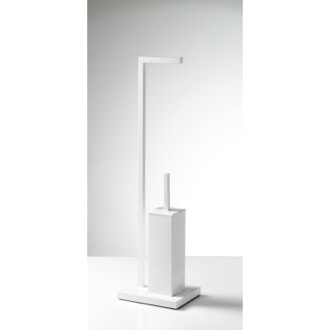 Bathroom Butler White Two-Function Bathroom Butler AS32-02 Gedy AS32-02