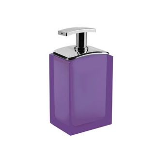 Soap Dispenser Lilac Free Standing Soap Dispenser AT80-79 Gedy AT80-79