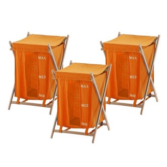 Orange Laundry Baskets Gedy BU380-67