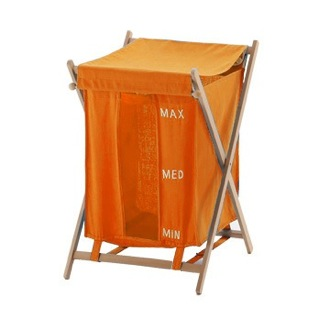 Orange Laundry Basket Gedy BU38-67