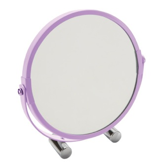 Makeup Mirror Lilac Free Standing Makeup Mirror CO2023-79 Gedy CO2023-79