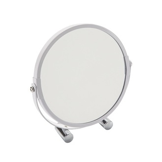 Makeup Mirror White Free Standing Makeup Mirror Gedy CO2023-02