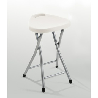 Bathroom Stool Chrome Bathroom Stool With Assorted Color Seat Gedy CO75