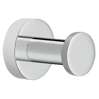 Bathroom Hook Modern Round Chromed Brass Bathroom Hook Gedy D027