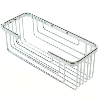 Wall Mounted Chrome Shower Basket Gedy 2419-13