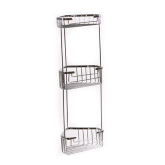 shower basket wire corner triple shower basket gedy