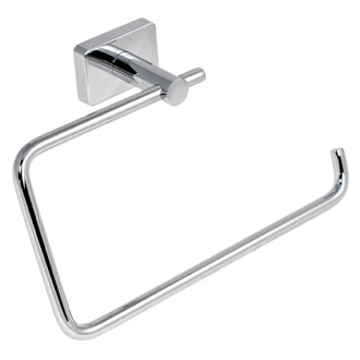 Towel Ring Square Stainless Steel Towel Ring 6670-13 Gedy 6670-13