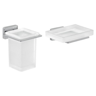 Wall Hung Bathroom Accessory Set Gedy ATN503