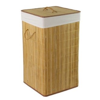 Laundry Basket Laundry Hamper Made of Cotton and Polyester and Bamboo BA38-35 Gedy BA38-35