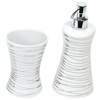 Bathroom Accessory Set in Muliple Finishes Gedy DV500