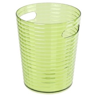 Free Standing Waste Basket Without Cover in Acid Green Finish Gedy GL09-04