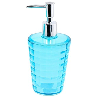 Round Turquoise Soap Dispenser Gedy GL80-92