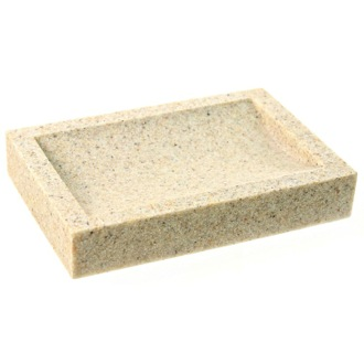 Soap Dish Rectangular Free Standing Soap Dish Available in Multiple Finishes OL11 Gedy OL11