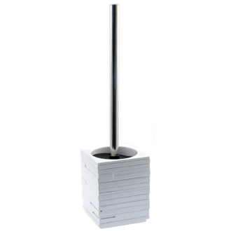 Free Standing White Toilet Brush Gedy QU33-02