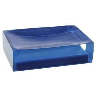 Soap Dish Decorative Blue Soap Holder RA11-05 Gedy RA11-05