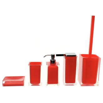 Rainbow Red Accessory Set of Thermoplastic Resins Gedy RA300-06