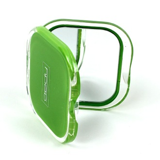 Hand Mirror Green Square 2x Double Faced Hand Mirror RA60-04 Gedy RA60-04