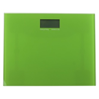 Square Green Electronic Bathroom Scale Gedy RA90-04