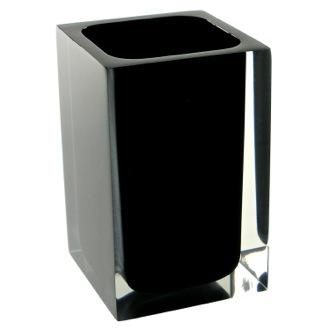 22,5/x 17/x 26/cm Gelco Design 709756/Papelera a pedale 3L Negro Metal