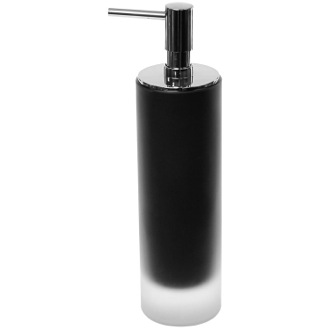 Soap Dispenser Free Standing Soap Dispenser in Glass Gedy TI80