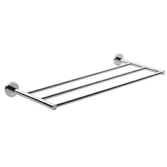 Chrome Wall Mounted Towel Shelf Gedy FE44-13