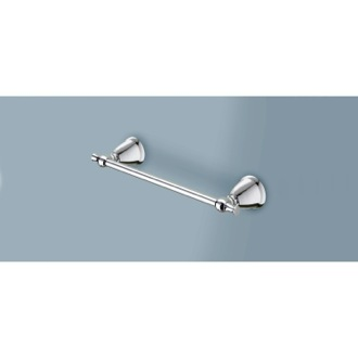 14 Inch Polished Chrome Towel Bar Gedy LI21-35-13