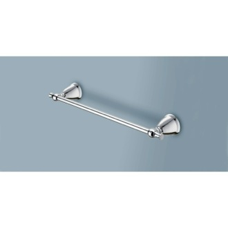 Towel Bar 18 Inch Polished Chrome Towel Bar LI21-45-13 Gedy LI21-45-13