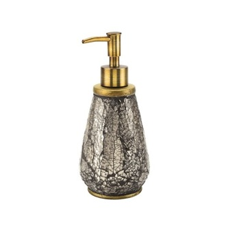 Soap Dispenser Gold Finished Soap Dispenser Made From Pottery MY80-87 Gedy MY80-87