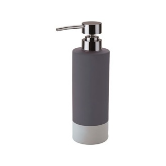 Soap Dispenser Pottery Soap Dispenser With Chrome Pump Available in Multiple Finishes MZ80 Gedy MZ80