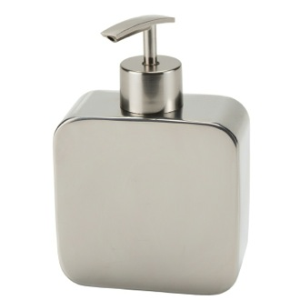 Chrome Free Standing Soap Dispenser Gedy PL80-13