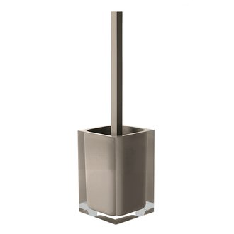 Decorative Square Turtledove Toilet Brush Holder Gedy RA33-52