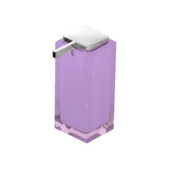 Soap Dispenser Tall Soap Dispenser Made of Thermoplastic Resin in Lilac RA80-79 Gedy RA80-79